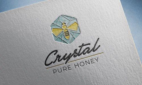 Crystal Pure Honey Logo
