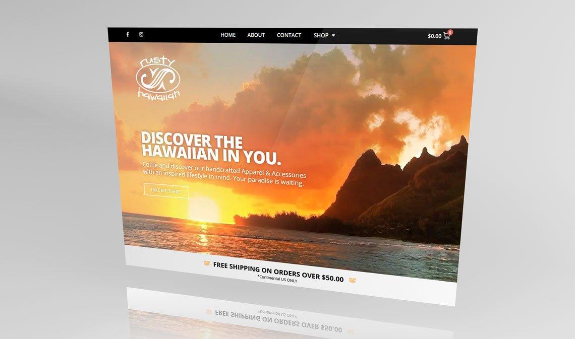 Rusty Hawaiian Main Site   Creswell, OR
